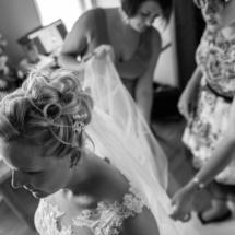 noir et blanc photo mariage nord